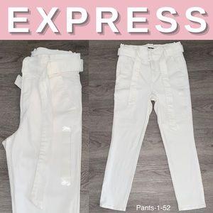 NEW Express Super High Rise Cropped Legging; 10